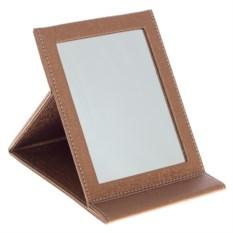 Бежевое настольное зеркало