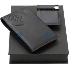 Набор из портмоне, визитницы с флеш-карты на 4 Гб