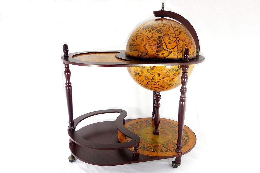 Глобус бар со столиком, диаметр сферы 42см