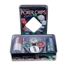 Набор для покера PockerChips, 100 фишек