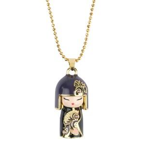 Ожерелье с кристаллами Чикако (Chikako) Проницательность