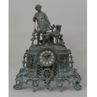 Часы-фигура из бронзы Virtus С пастушком