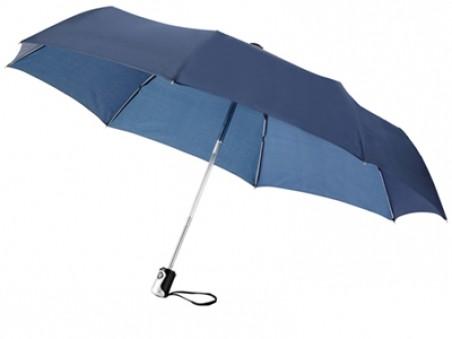 Темно-синий складной автоматический зонт «Калдроуз»