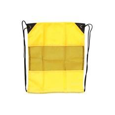 Рюкзак-мешок с сеткой, желтый