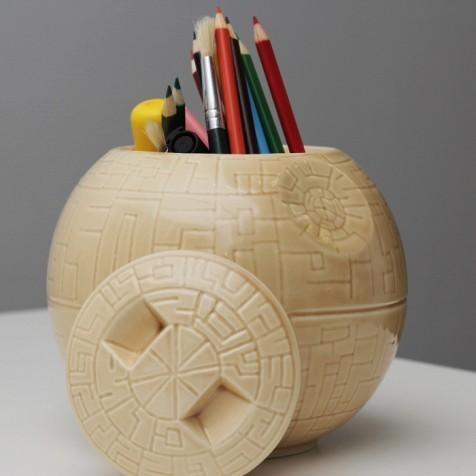 Керамическая ваза (Death Star)