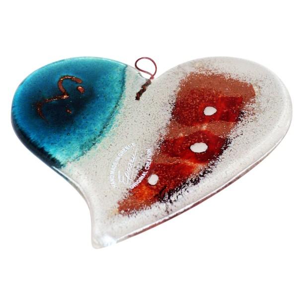Сувенир из стекла «Сердце»