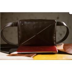 Кожаная сумка через плечо Brialdi Killeen (цвет: коричневый)