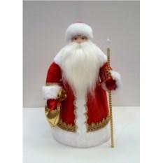 Игрушка Дед Мороз в красной шубе