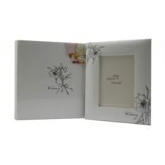 Белый фотоальбом + рамка Wedding