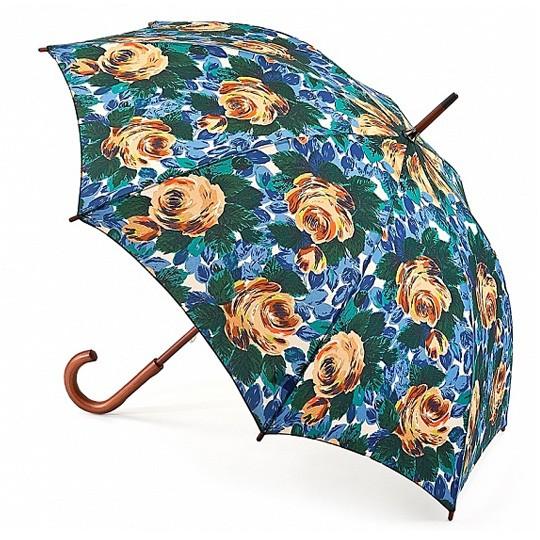 Зонт-трость Deep blue rose