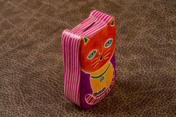 Копилка Оранжевый котик