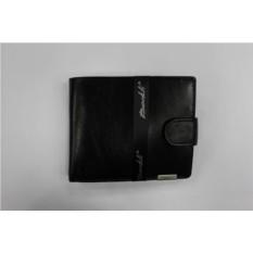 Черное кожаное портмоне Barkli