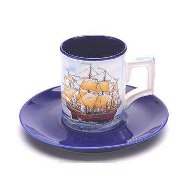 Чайный набор на 1 персону «Парусник»