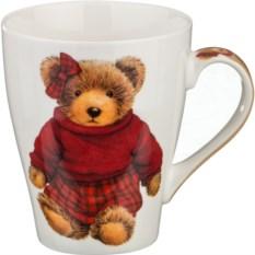 Кружка Медвежонок в красном, объем 350 мл