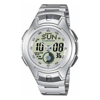 наручные часы Casio Classic & Digital Timer AQ-160WD-7B
