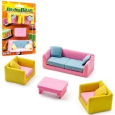 Ластики-пазлы «Мебель для дома»