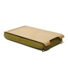 Мини подставка с деревянным подносом Laptray (дерево/оливка)