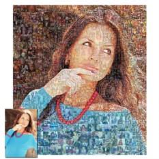 Портрет-мозаика из фотографий