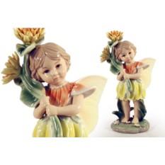 Статуэтка Девочка - фея (в жёлтом)