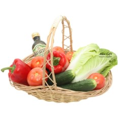 Подарочная корзина Вегетарианская