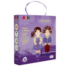 Детский набор для творчества «Лучшие друзья Катя и Миша»