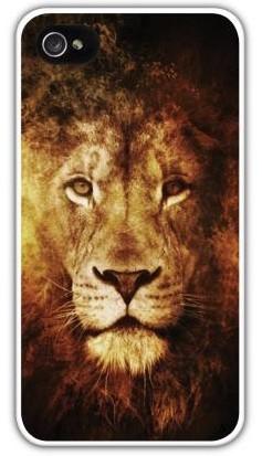 Чехол-накладка для iphone 4/4S, лев