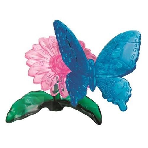 3D-головоломка Бабочка. Голубая Морфо
