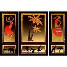 Картина Swarovski «Азия и Африка»
