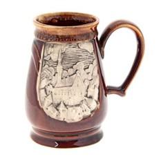 Кружка для пива Евро, коричневая