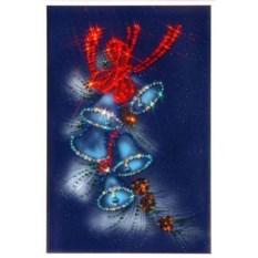Картина Swarovski Новогодние колокольчики