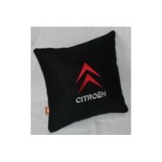 Черная с красно-белой подушка Citroen