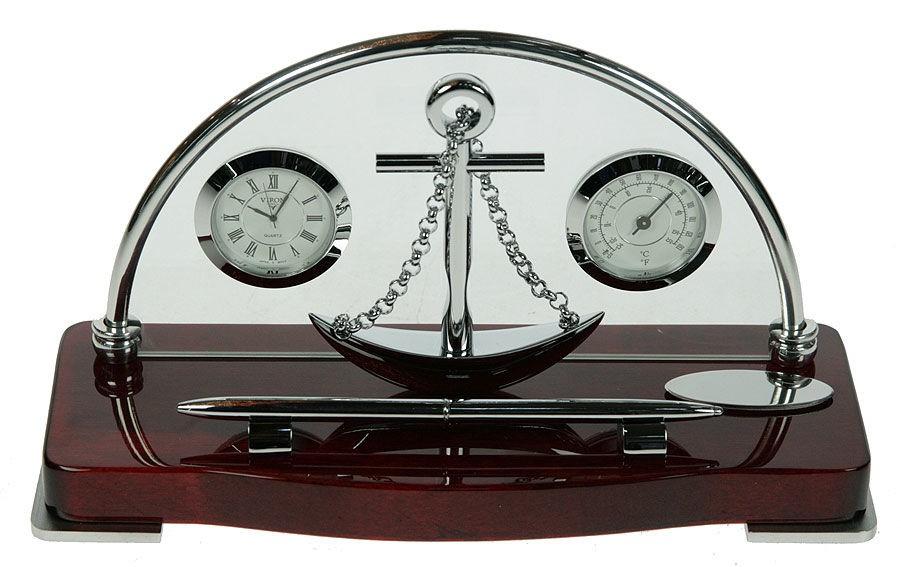 Часы настольные VIRON 26х10х14 см.