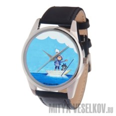 Наручные часы от Mitya Veselkov Мальчик и собака в лодке