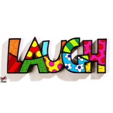 Настенная декорация Britto Laugh
