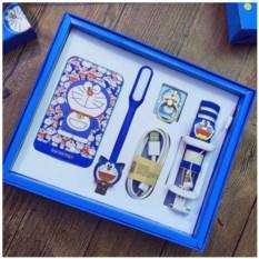 Синий детский подарочный набор для смартфона