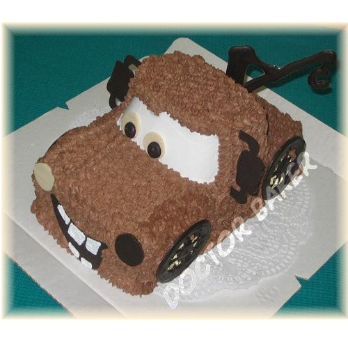 Торт «Эвакуатор Мэтр»