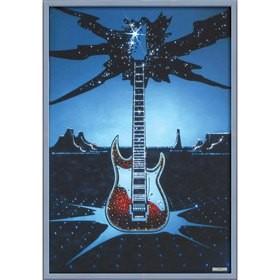 Картина Swarovski Гитара