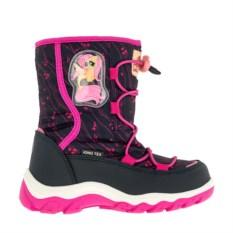 Черные сноубутсы на шнуровке My Little Pony