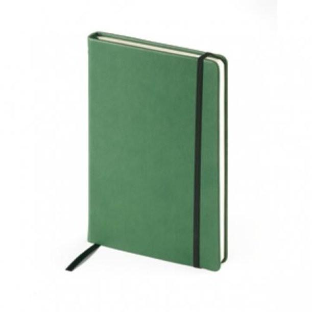 Зеленый недатированный ежедневник Megapolis Velvet А5