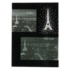 Фоторамка Ночной Париж на 2 фото