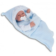 Кукла-младенец Хьюго в голубом