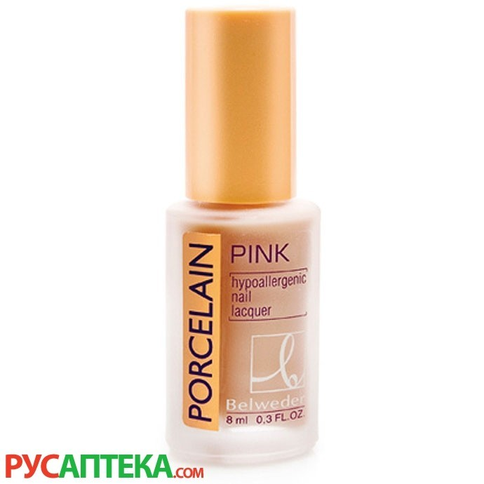Фарфоровый розовый лак для ногтей Бельведер