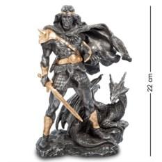 Статуэтка Викинг и Дракон , высота 22 см