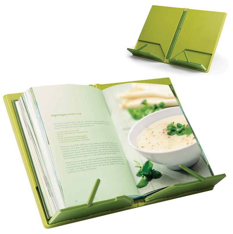 Подставка для кулинарной книги CookBook™, складная, зеленая