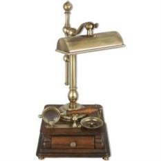 Античная настольная лампа