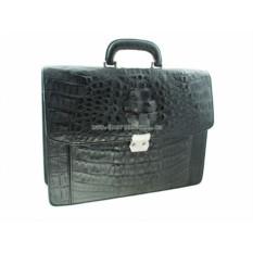 Мужской портфель из крокодила