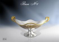 Серебряная ваза №8