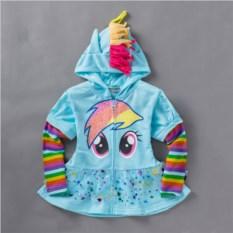 Детская толстовка Пони Радуга Дэш My little pony