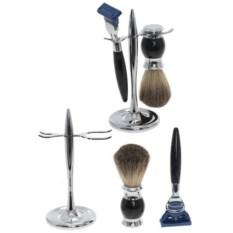 Подарочный набор для бритья из станка и помазка