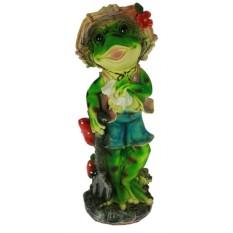 Ландшафтная фигурка Лягушка-садовник